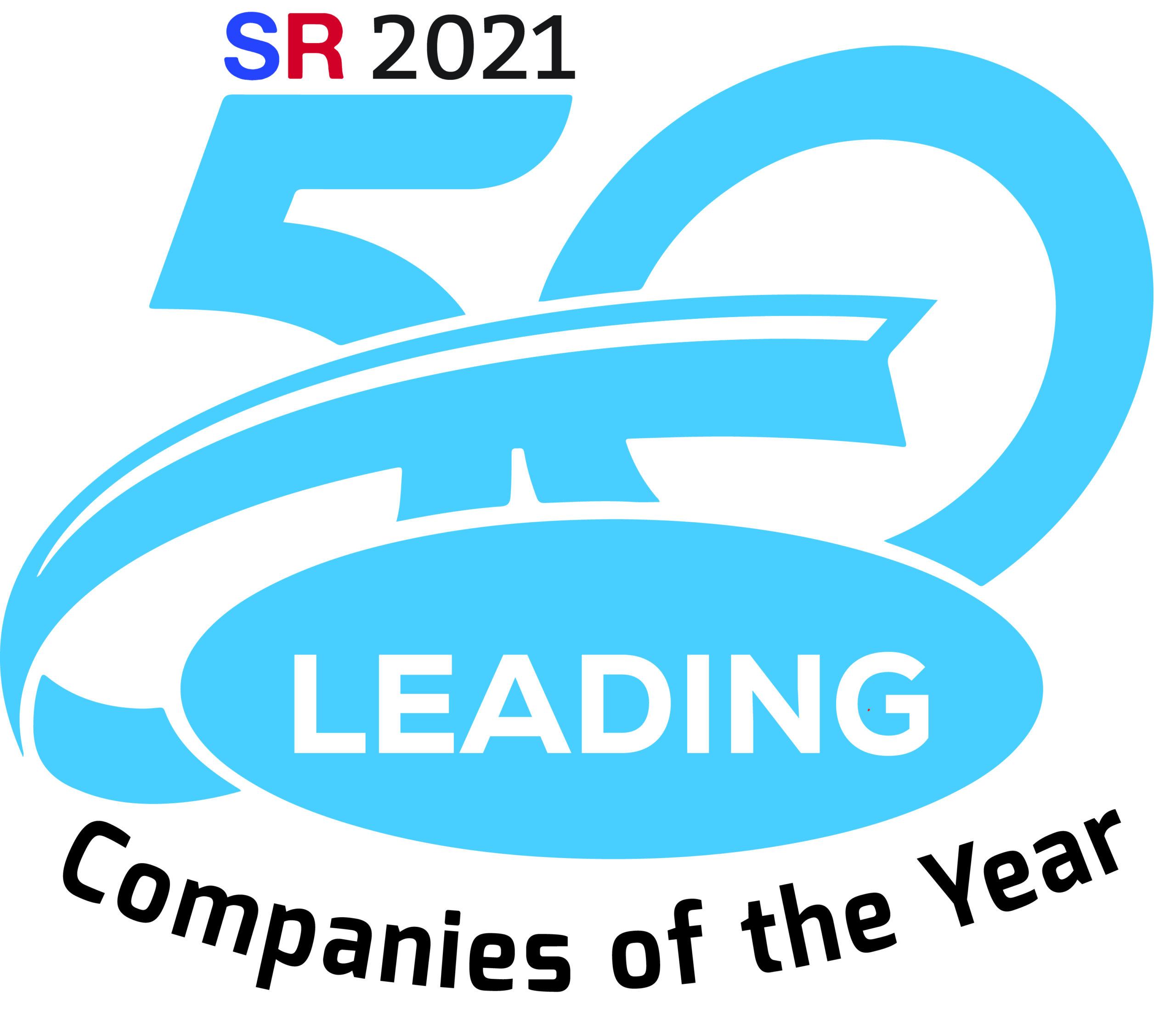 50 Leading Companies 2021_Award Logo